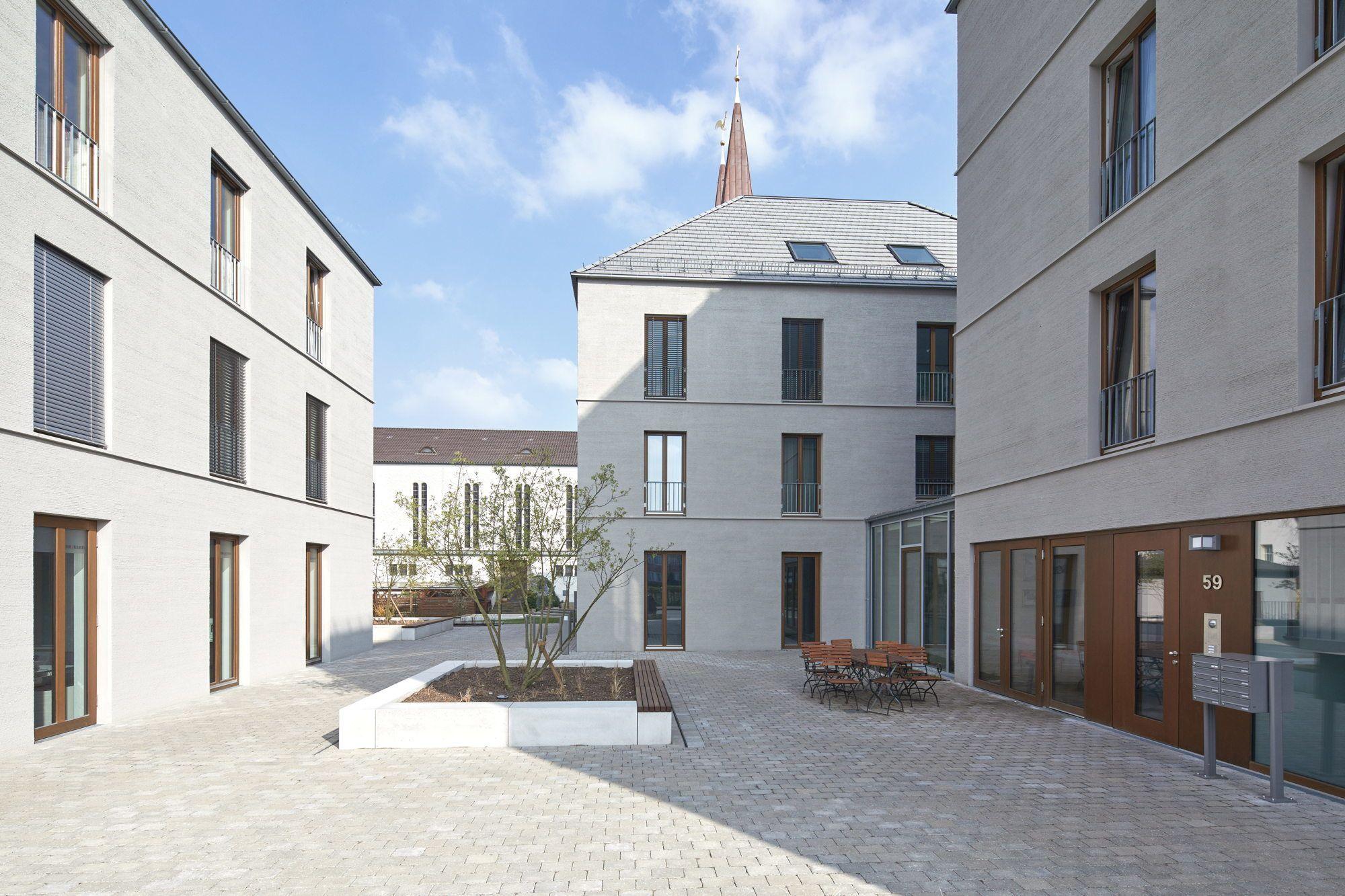 Respekt Vor Dem Umfeld Wohn Und Geschaftshauser In Bielefeld Von Wannenmacher Moller Moderner Hof Architektur Bielefeld
