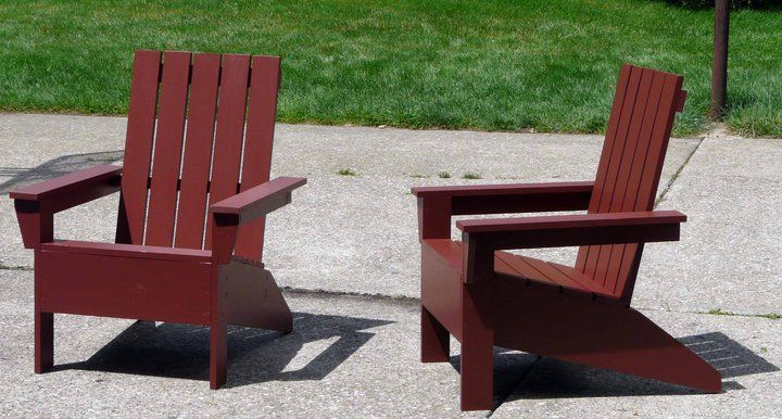 Modern Adirondack Chair Diy Furniture Easy Diy Furniture Plans