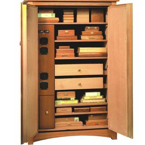 Amazon.com: Vigilant Climatech Electronic Cigar Cabinet Humidor ...