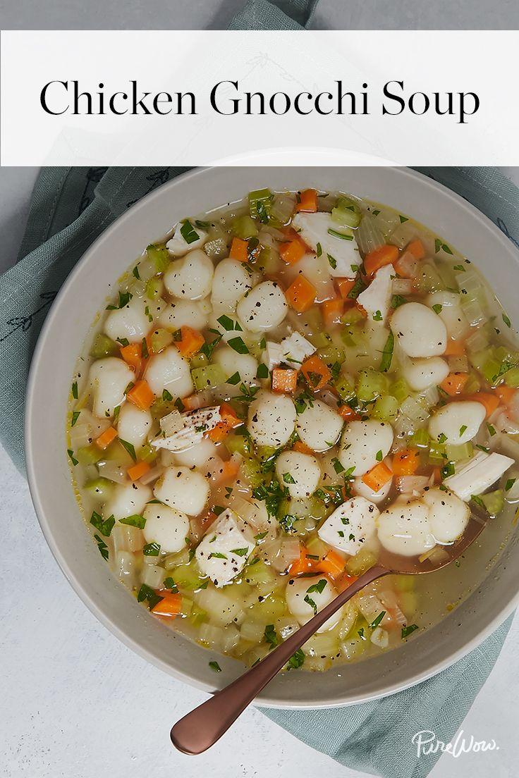 Chicken Gnocchi Soup | Recipe | Pinterest | Chicken gnocchi soup ...