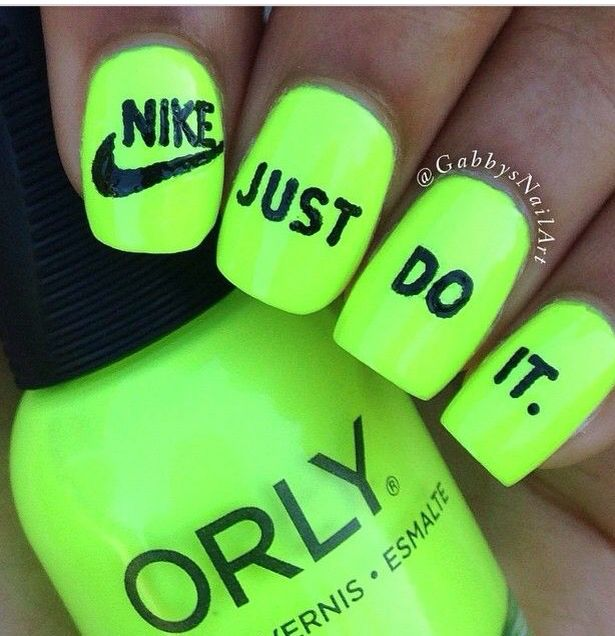 Create cute nails with this Nike symbol!! | nike<3 | Pinterest ...