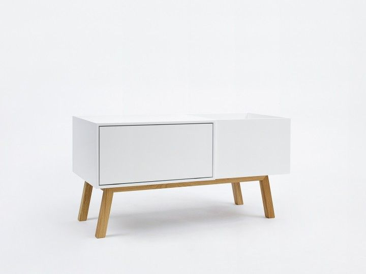 Pur Und Weiss Sideboard Mit Hifi Modul Side Board Mobeldesign Anrichte Weiss