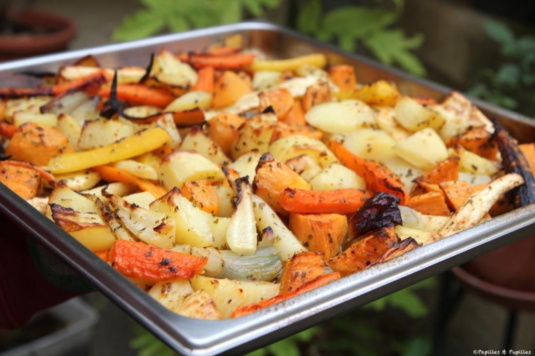 Légumes d'automne rôtis au four   Recette   Légumes ...