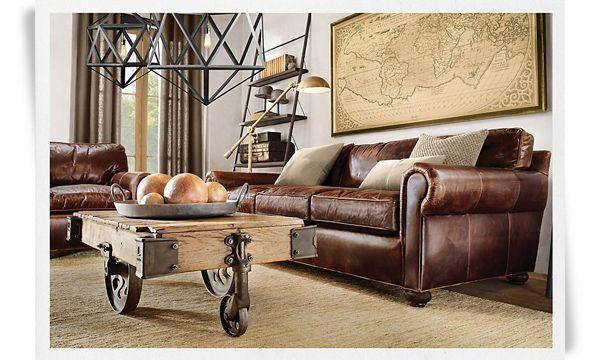 Meubles Et Mobilier Exceptionnels Luxe Et Matières Design Et - Canapé design industriel