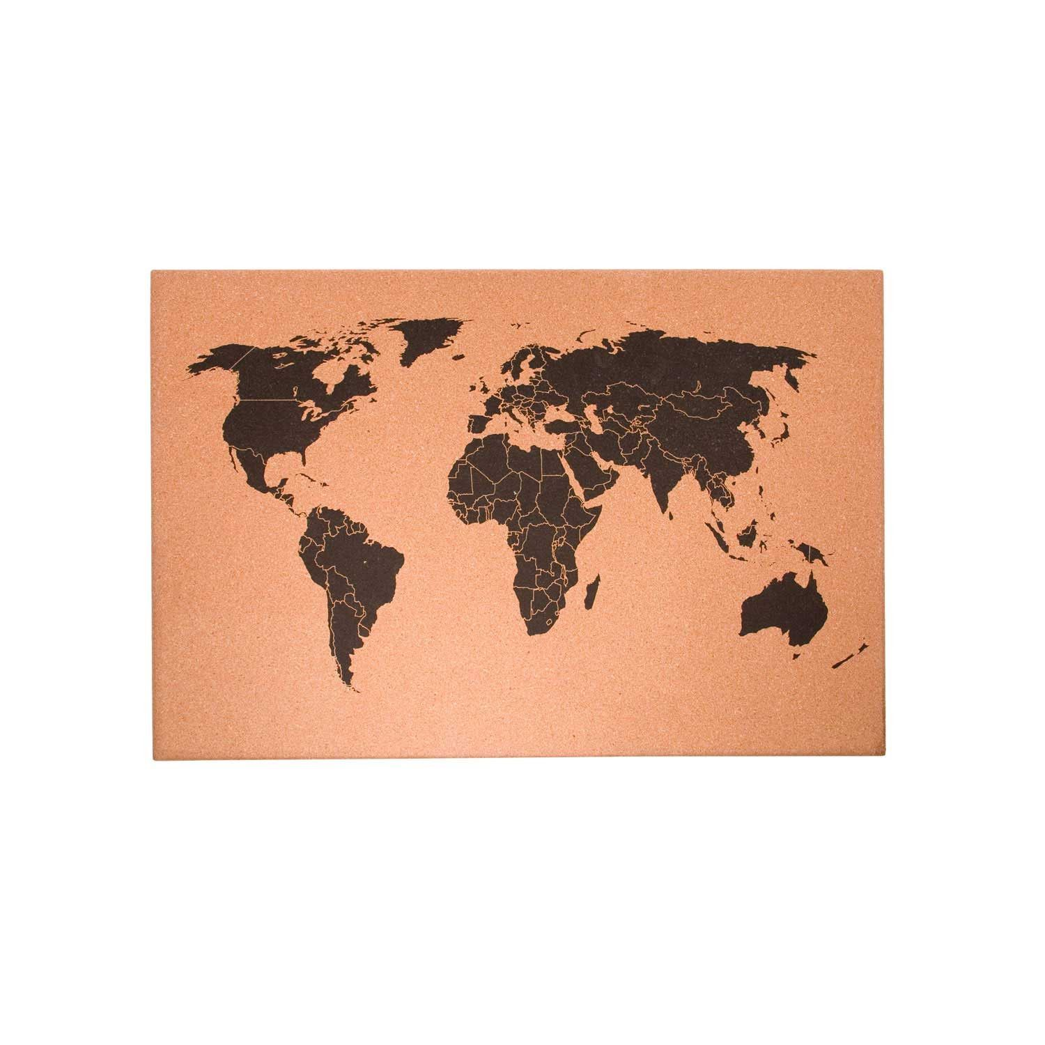 World map cork board travel diy pinterest cork boards cork world map cork board gumiabroncs Image collections