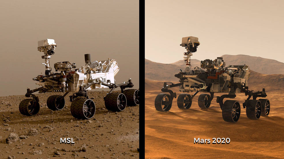 Two Rovers To Roll On Mars Again Curiosity And Mars 2020 Space And Astronomy Space Planets Space Nasa