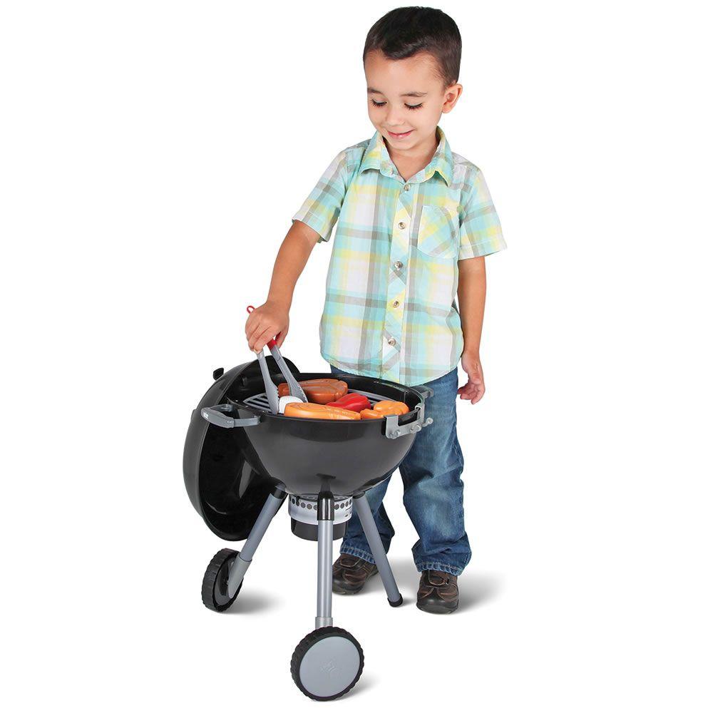 The childrenus weber grill hammacher schlemmer things for liam