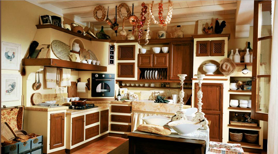 CUCINA RUSTICA CON BAULE - Arredamento Shabby   casa   Pinterest ...