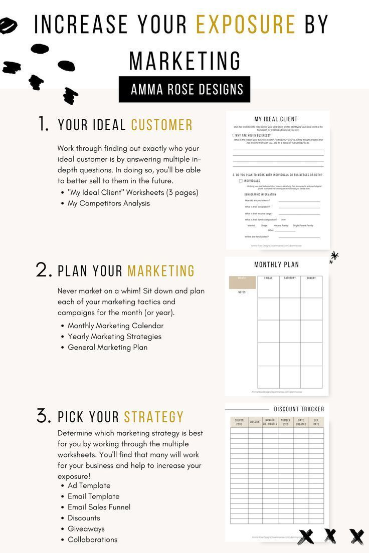 Business Planner Printable Business Planner PDF