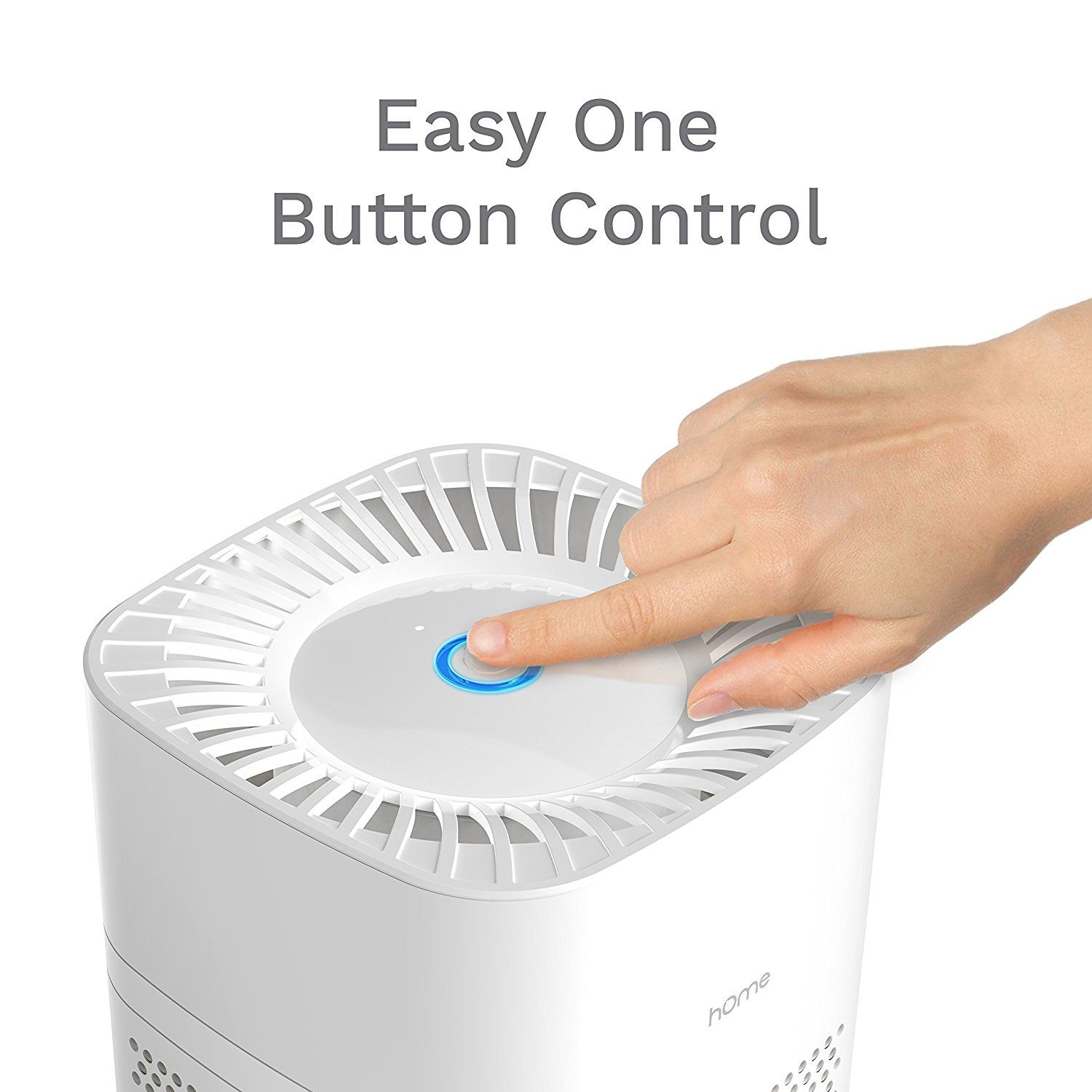 hOmeLabs 3 in 1 Ionic Air Purifier with HEPA