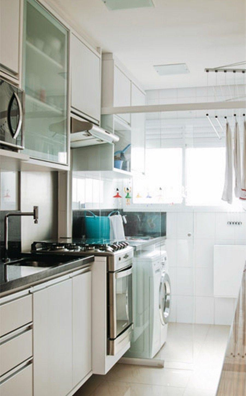 7 apartamentos pequenos decorados e otimizados asi for Cocinas integrales apartamentos pequenos