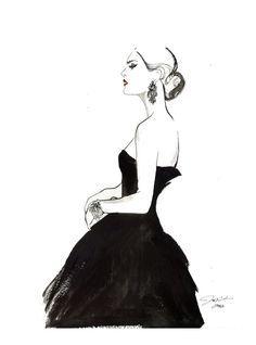 fashion sketches black and white , Google Search