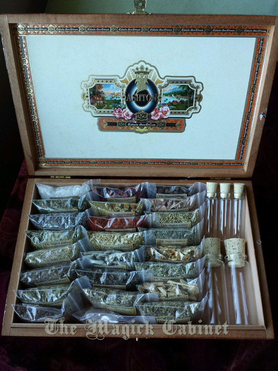 Wicca Herb Kit, Witch Box, Witchcraft Supplies, Witch Herbs, Herb