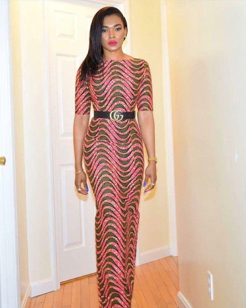 Robe de bal africaine/tissu Ankara/mode africaine/2018 style/robe africaine #ankaramode