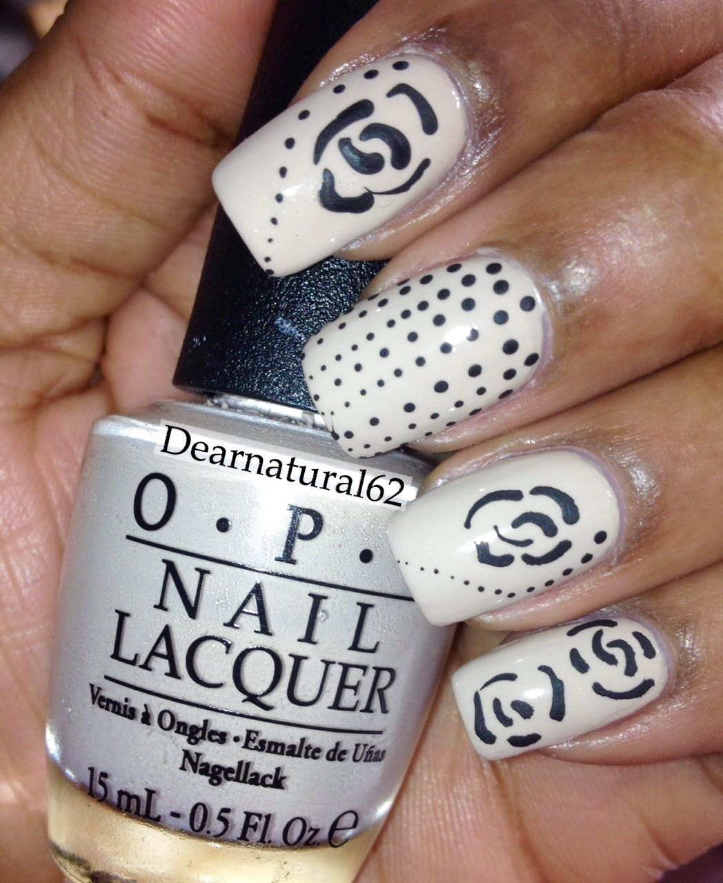 261 #NAILART | @OPI_Products Rose Tutorial