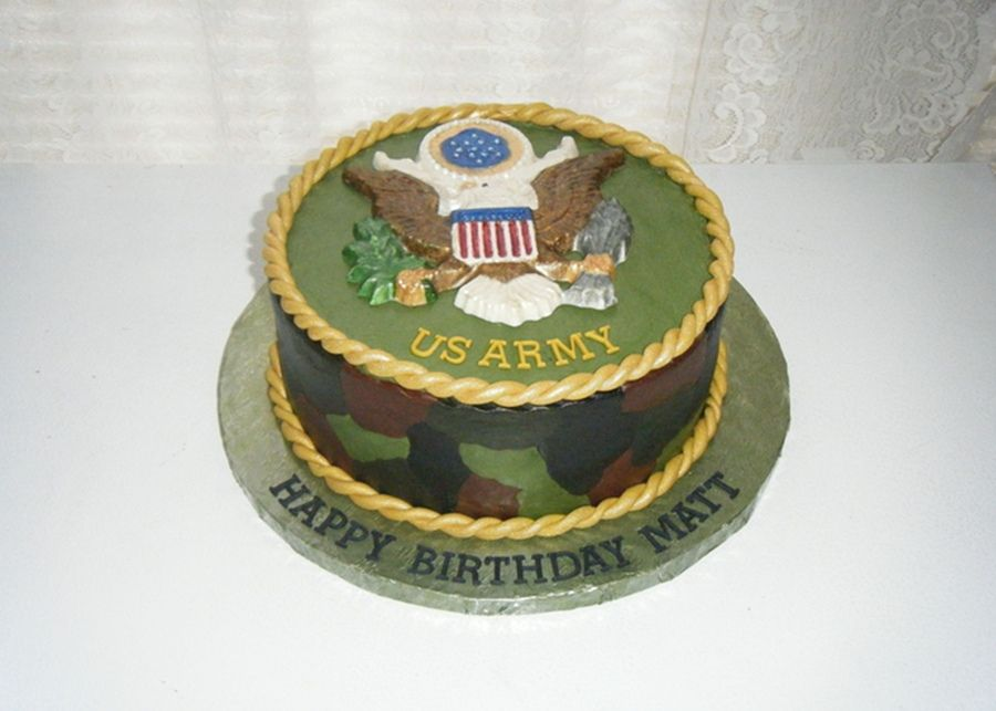 army themed birthday cakes Army birthday cake Military Police