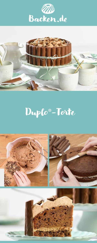 Duplo-Torte - Rezept von Backen.de