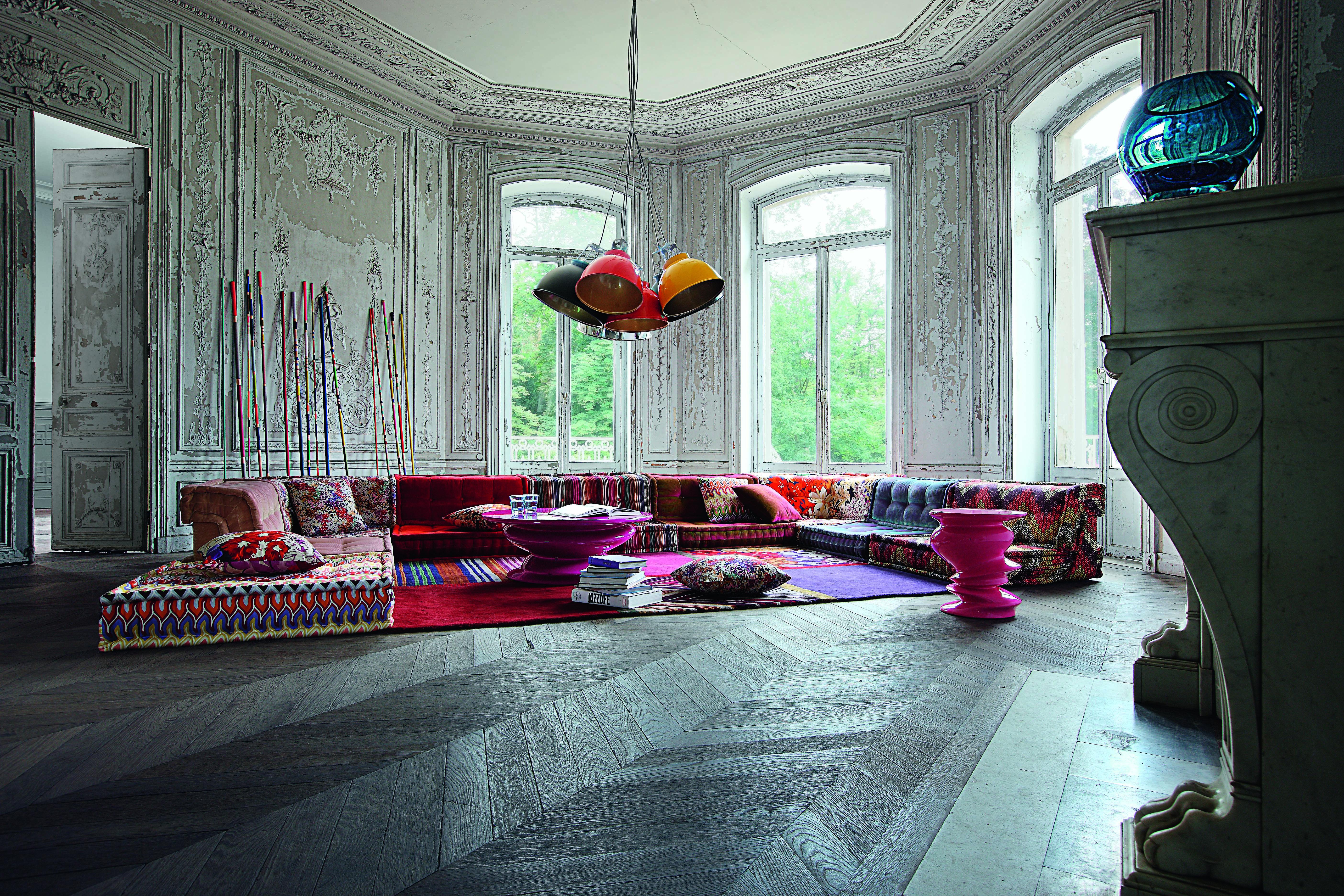 We love Design: Mah Jong von Roche Bobois | Roche Bobois im stilwerk ...