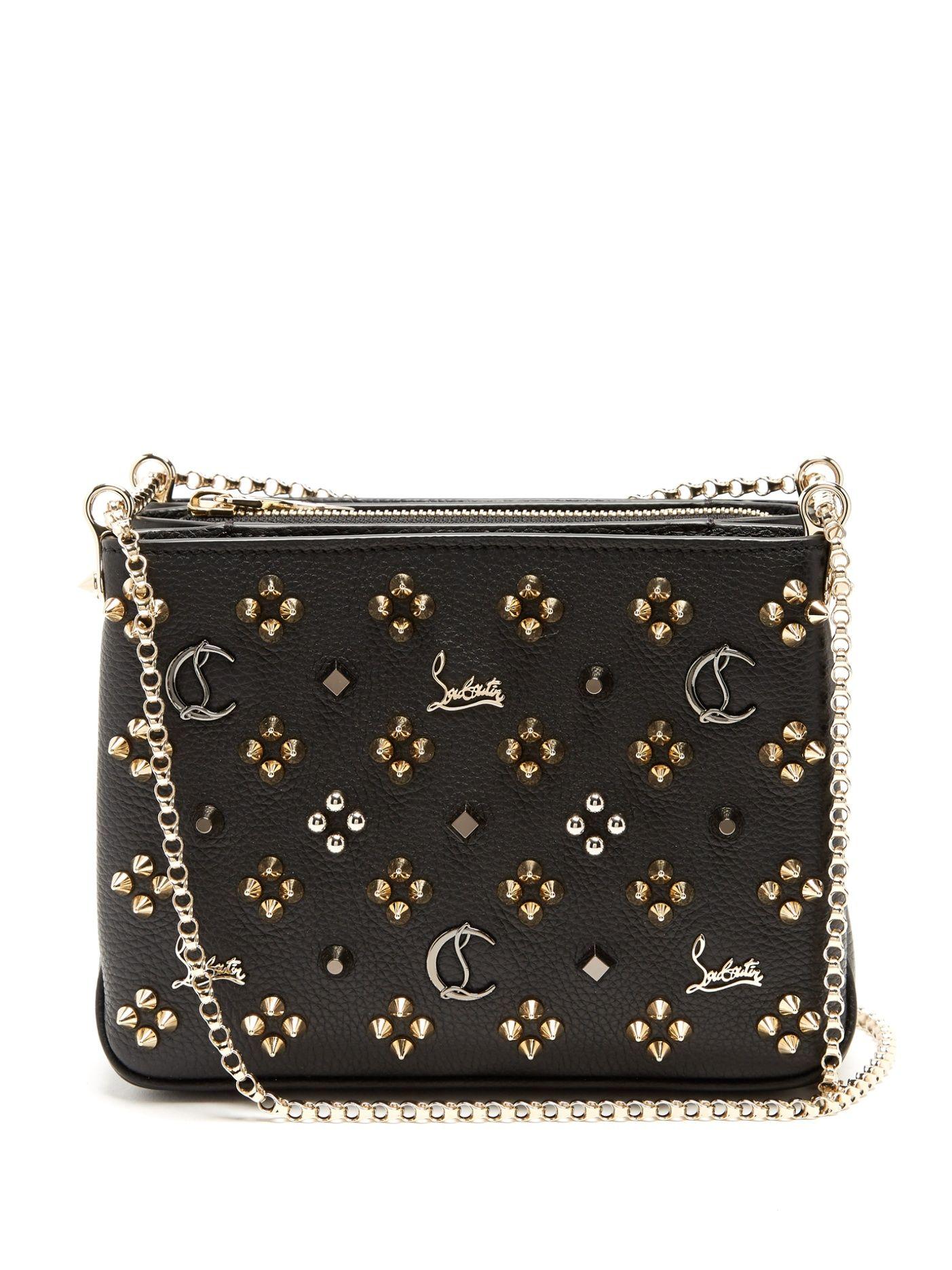 3028041a772 Triloubi small leather cross-body bag | Christian Louboutin ...