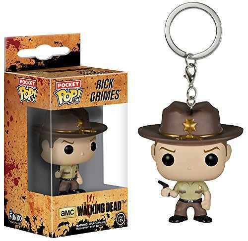 Rick Grimes: Pocket POP! Keychain x Walking Dead Vinyl Figure @ niftywarehouse.com #NiftyWarehouse #WalkingDead #Zombie #Zombies #TV