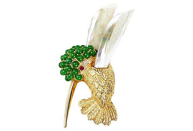 One Kings Lane - Loving It - Boucher Hummingbird Pin