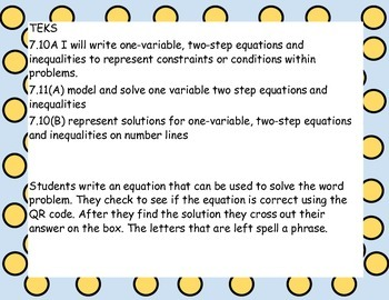 Two-step equation word problem: computers