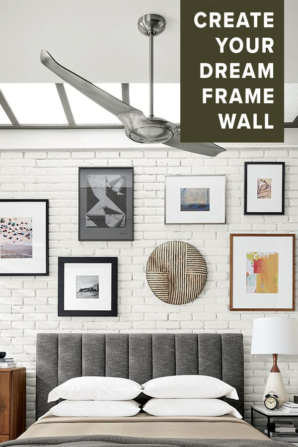 Create a Modern Frame Wall | Create a Frame Wall | Pinterest ...