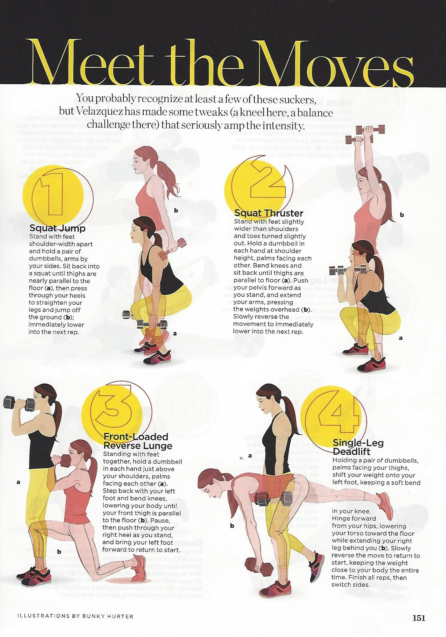 Workout From Idalis Velazquez In Womenshealthmag