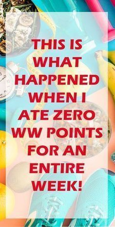 #freestyle #watchers #weight #point #zero #weekWeight Watchers Freestyle Zero Point Week
