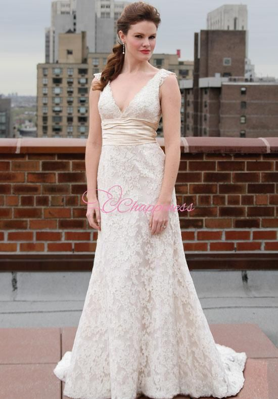 Cchappiness fashion wedding dress