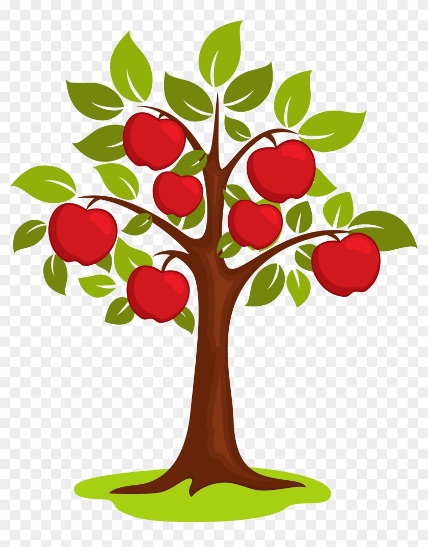 Cartoon Clip Art Clipart Apple Tree Png Download Cartoon Clip Art Clipart Apple Tree Png Downl Apple Coloring Pages Apple Tree Drawing Banner Clip Art