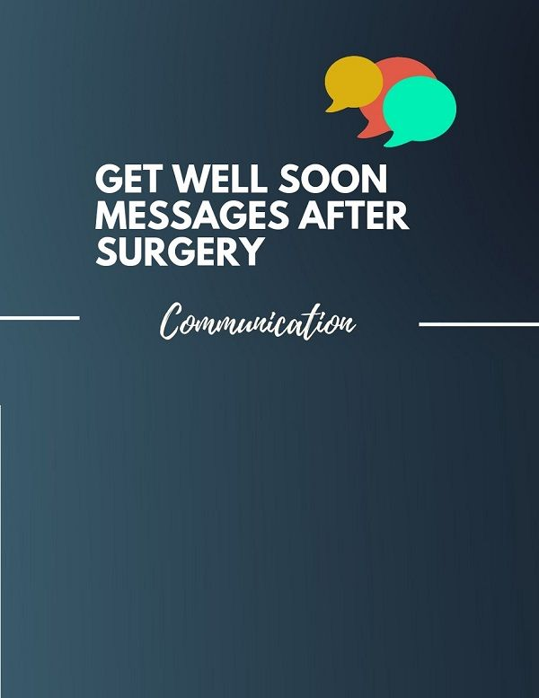 It is not easy to write a get well soon message to someone ...