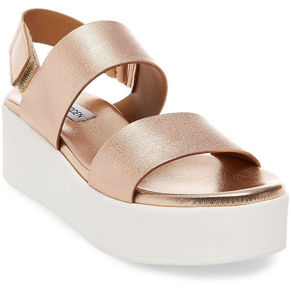 091299e1d54 Steve Madden Rachel Sandals ( 90) ❤ liked on Polyvore featuring shoes