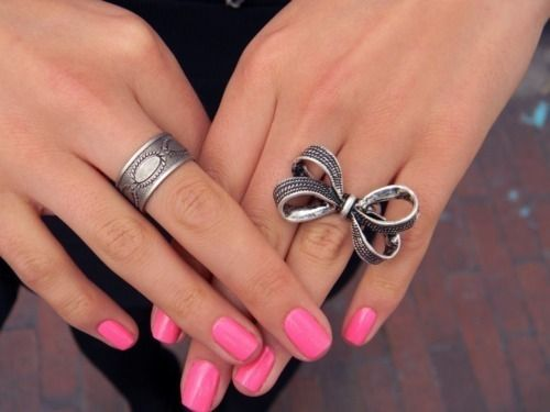 Recycled Old Style Silver Rings