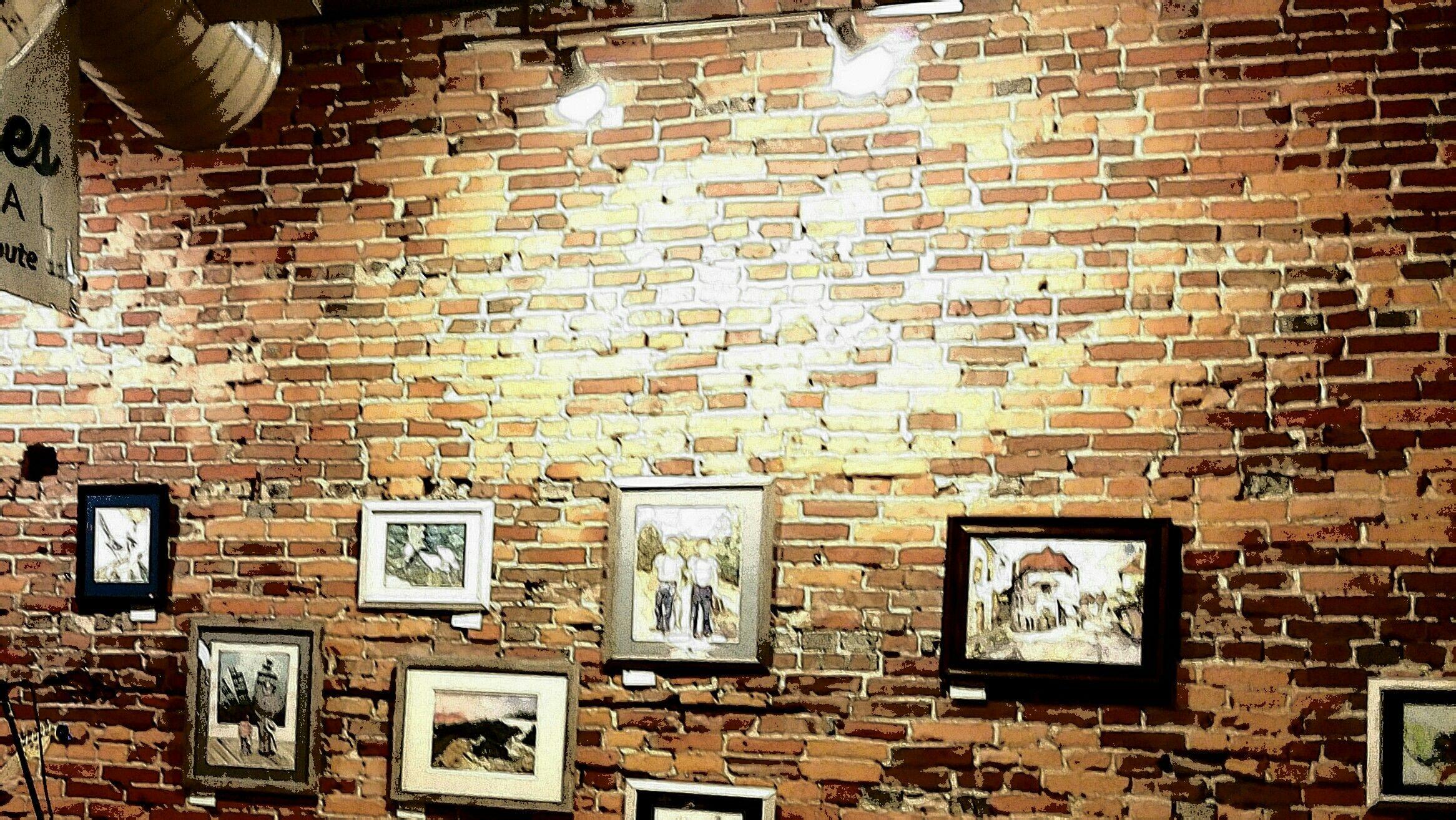 Rustic Brick Wall | RUSTIC & RUFFLED | Pinterest | Bricks and Walls