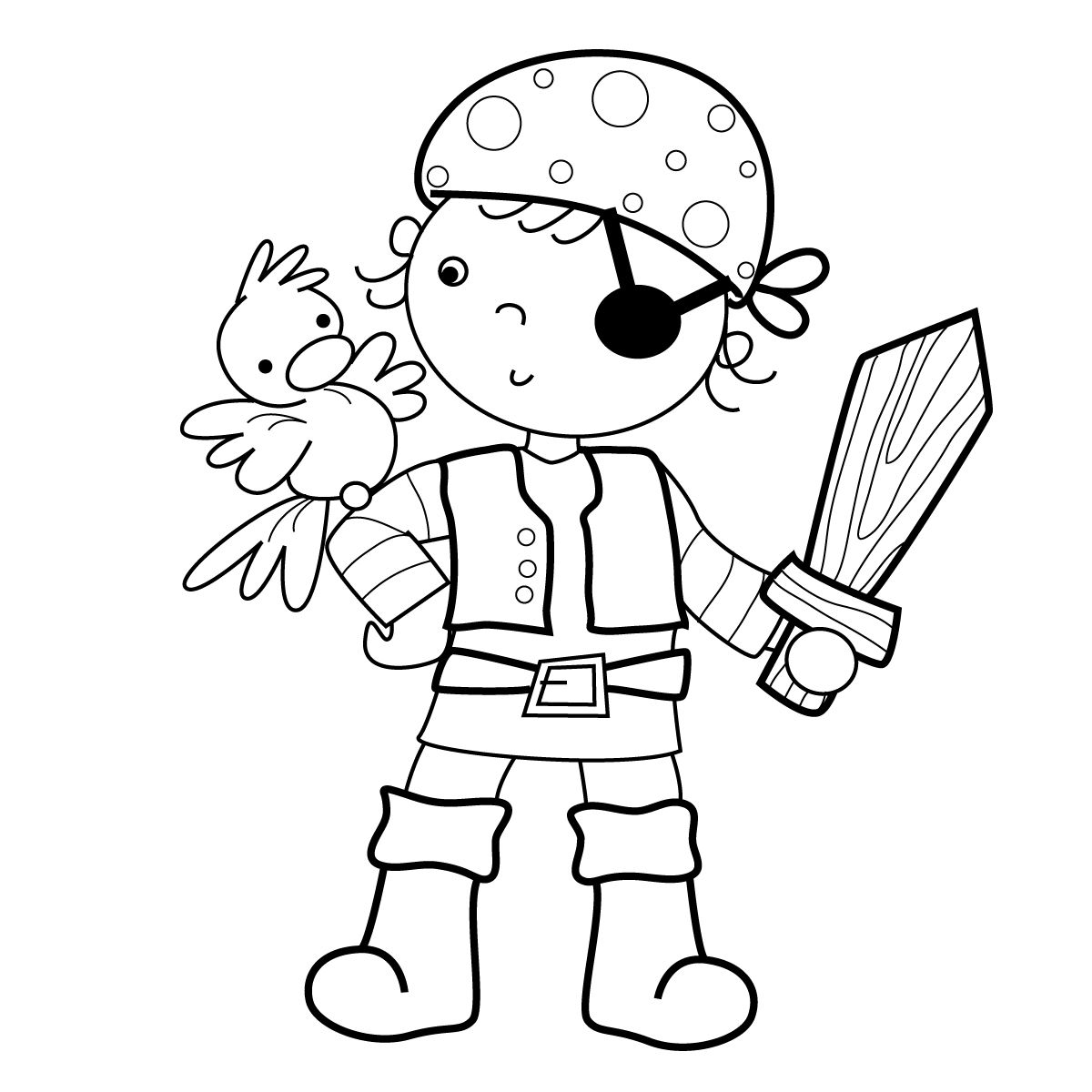 marisa straccia scan n cut pirate coloring pages
