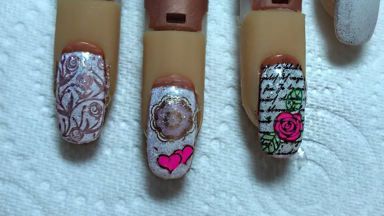 Clearjellystamper Plate nail designs. - YouTube | My youtube video ...