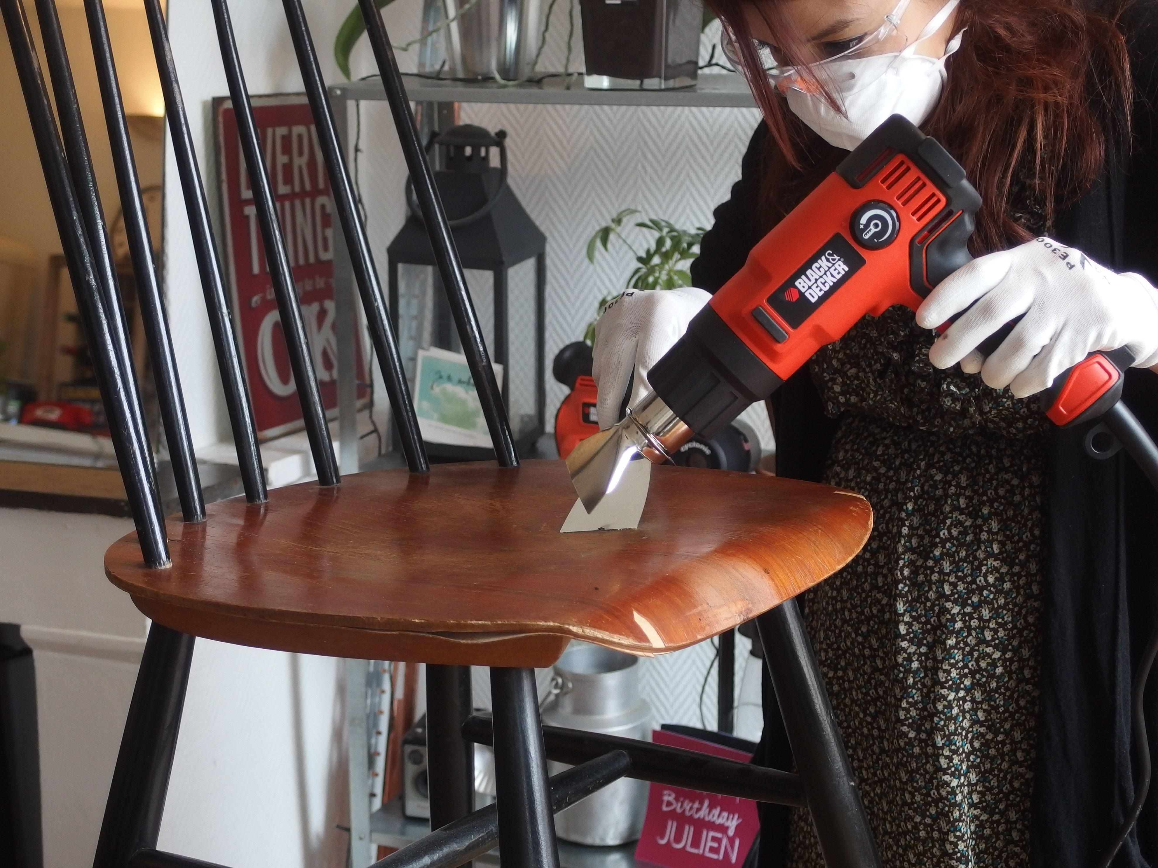 Comment Decaper Des Chaises En Bois Épinglé sur diy : comment rénover une chaise en bois