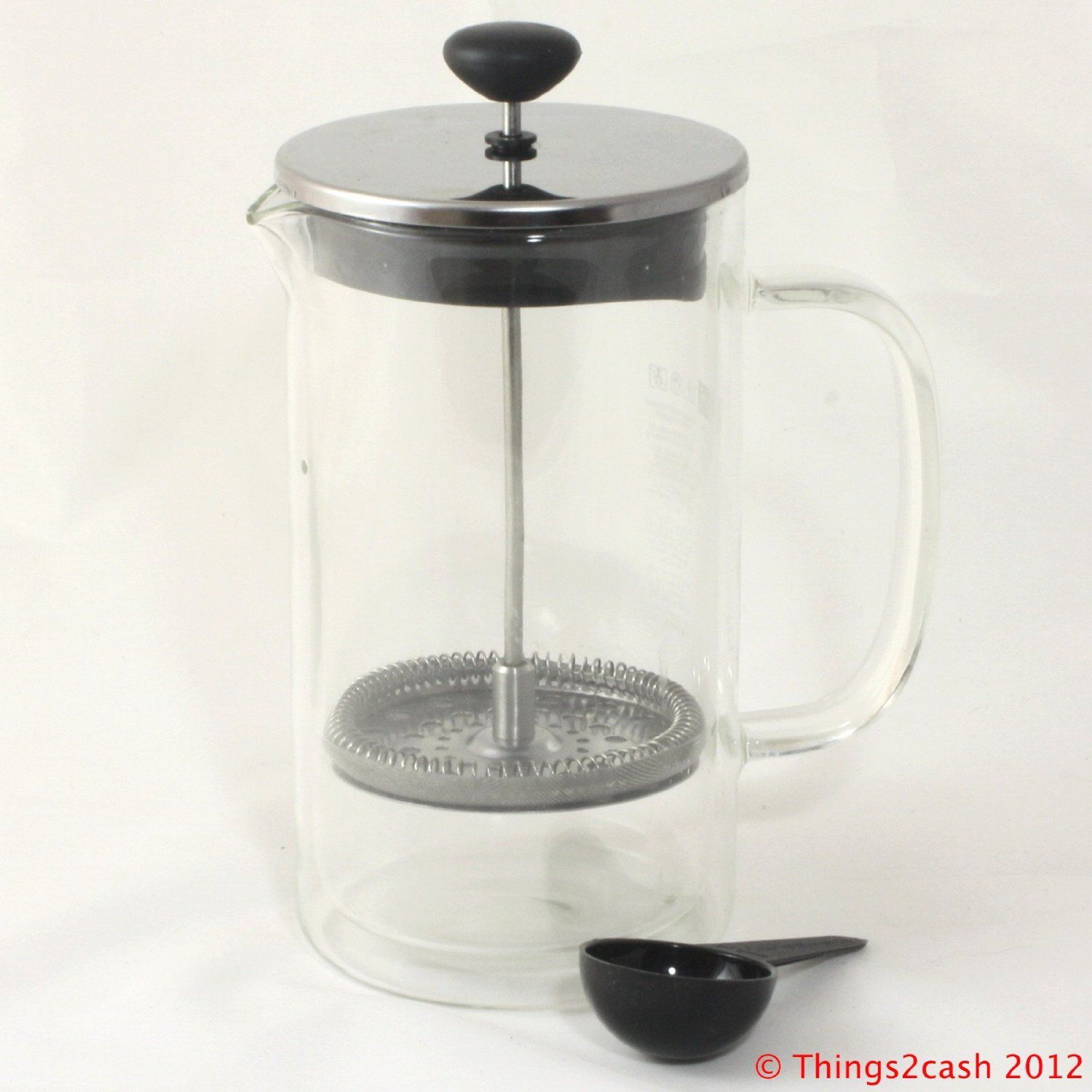 Bodum Bistro Double Wall Glass Thermal French Press Coffee