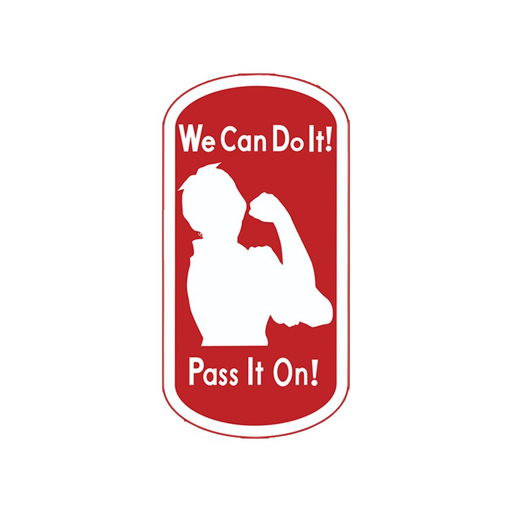 Rosie The Riveter Tattoo We Can Do ItPass It On Httpswww - Car sign meaningsbest car signs photos blue maize
