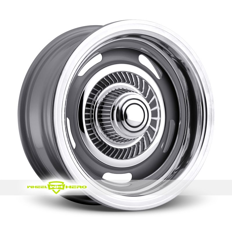 American Muscle 55 Rally Silver Wheels For Sale American Muscle