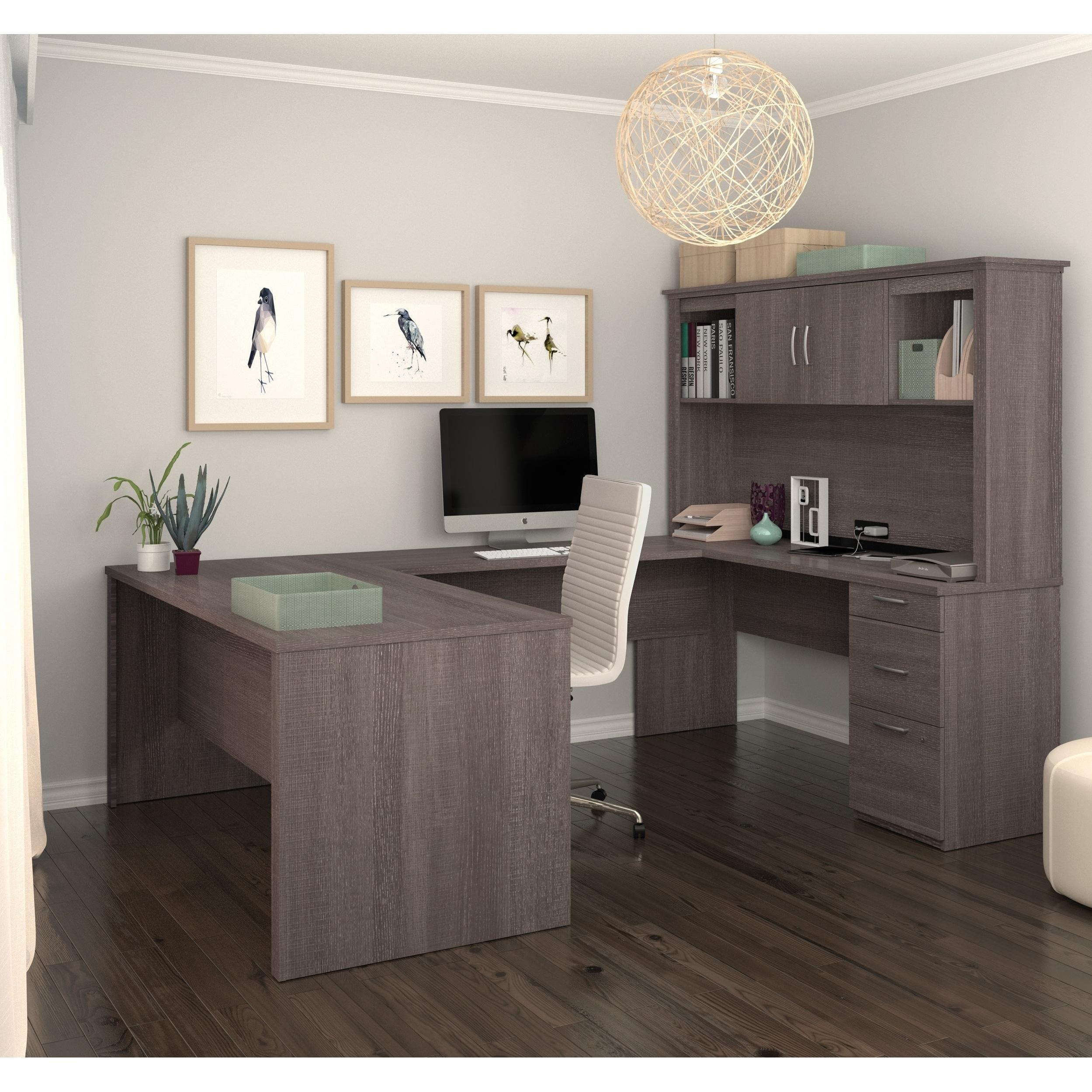 Bestar Logan U Shaped Desk Home Office Design Cheap Office