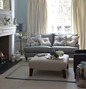 Duck Egg Blue Sofa Living Room