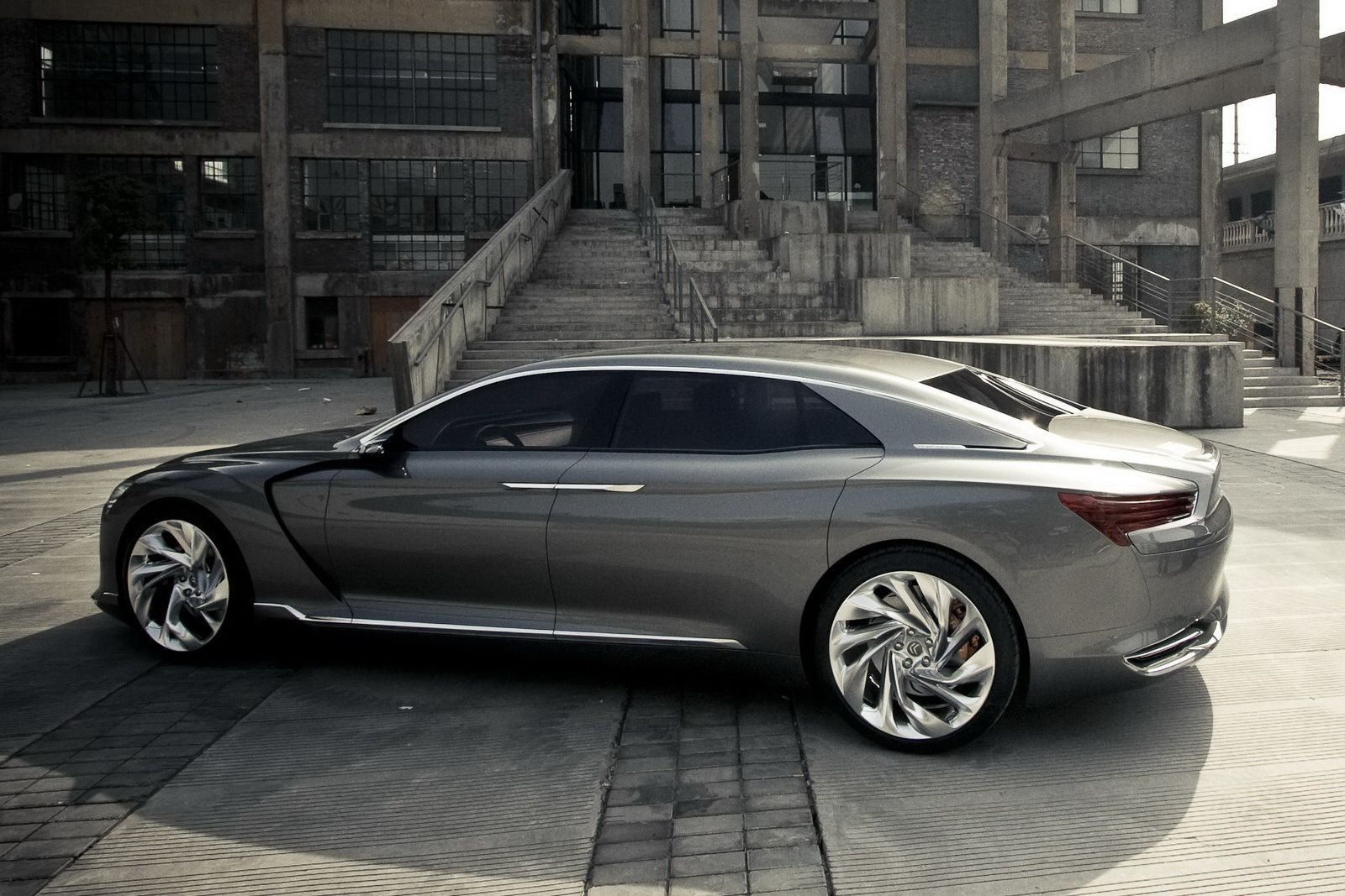 Citroen Could Ressurect C6 Name For China Citroen Ds9 Luxury Hybrid Cars Citroen