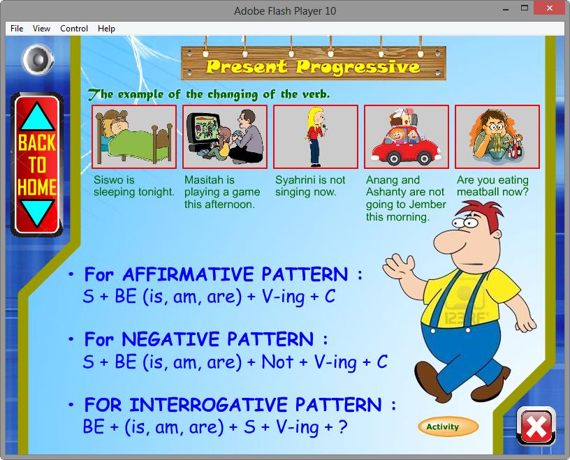 Contoh Aplikasi Media Pembelajaran Interaktif English Writing Game Edukasi Multimedia Kuis