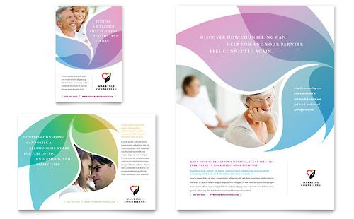 Superior Marriage Counseling Flyer And Ad Design Template By StockLayouts Intended For Advertisement Flyer Template