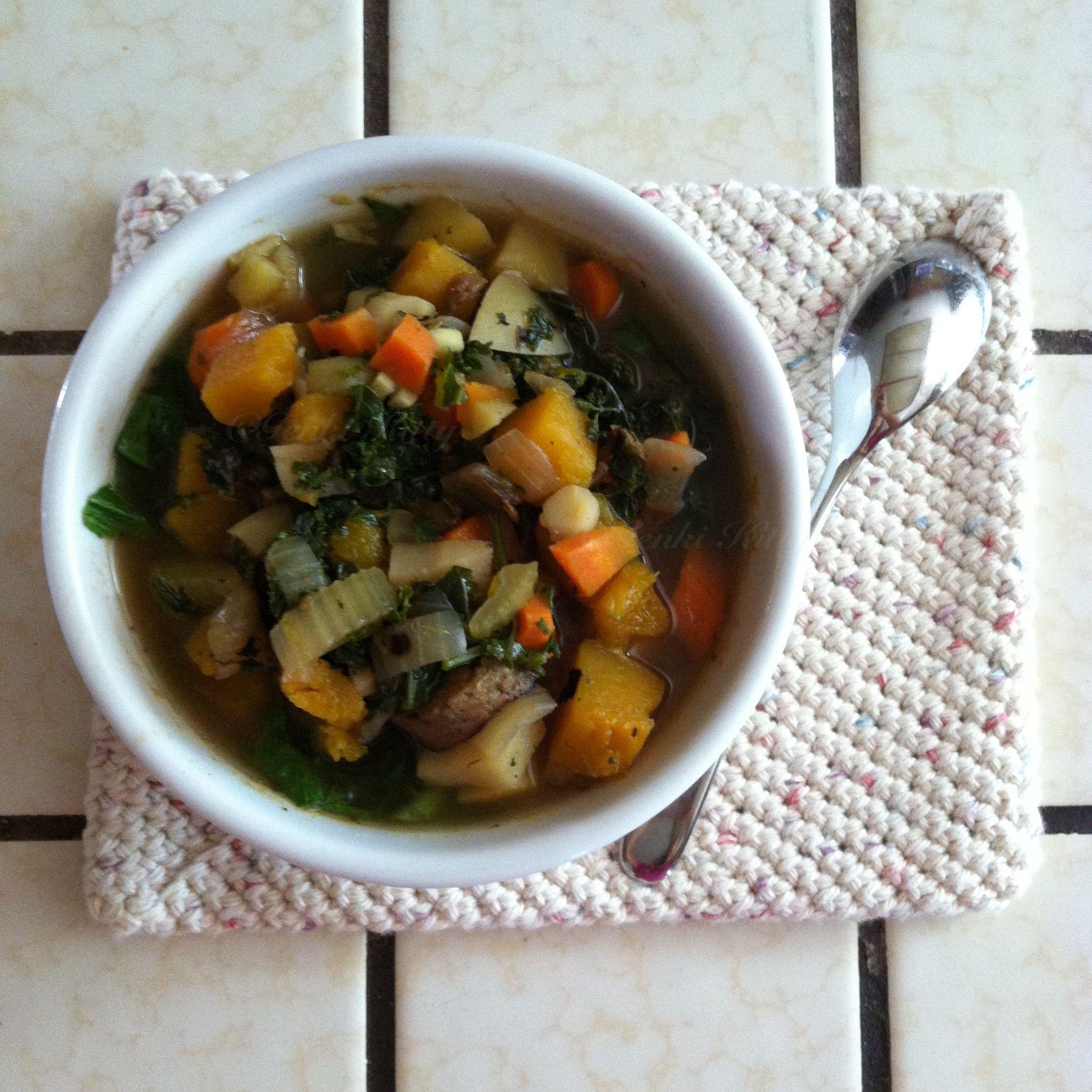 Vegan Sausage Stew recipe while pregnant