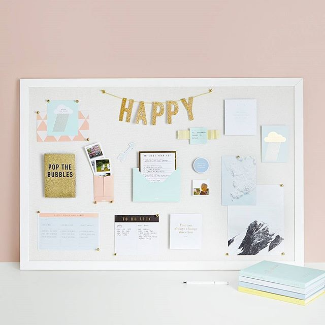 A Vision Board Is The Perfect Place To Display All Of Your Dreams