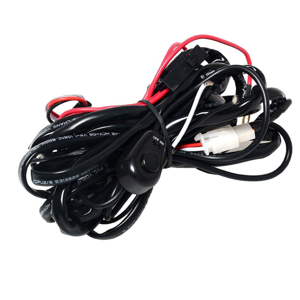 Auto Wiring Harness Replacement Ee Support 40a Laser Rocker Switch Relay Fuse Kit Led Light Zombie On Off