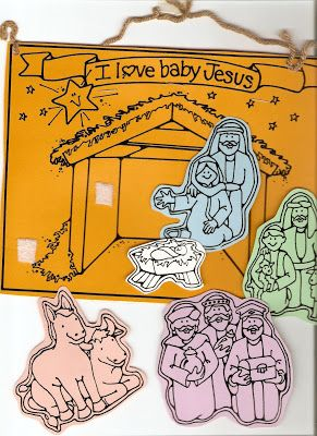 Lds Nursery Color Pages Christmas Lesson I Belong To The Church